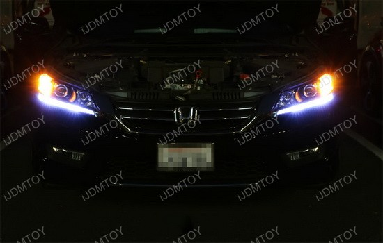 Honda Accord LED Daytime Running Light Retrofit