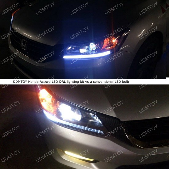 Honda Accord Oem Look Led Daytime Running Light Retrofit