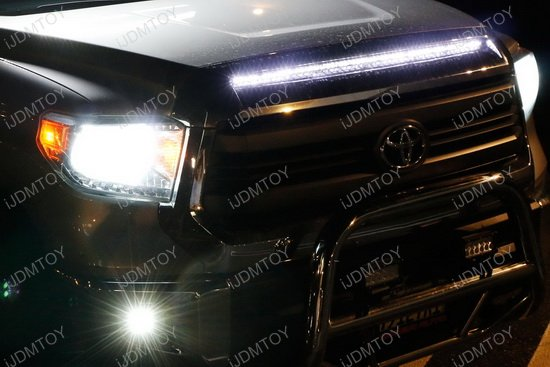 super bright led hood bulge strip for 2014