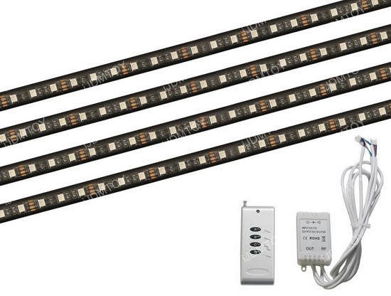 7-Color RGB LED Strip Lighting Kit