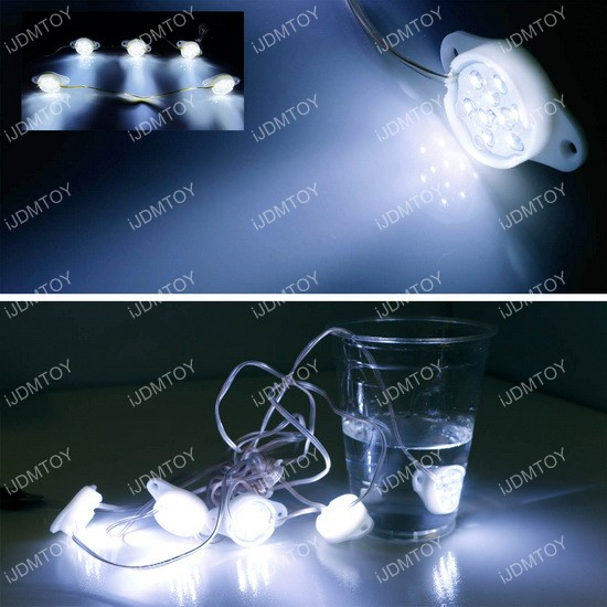 Truck cargo bed LED light kit