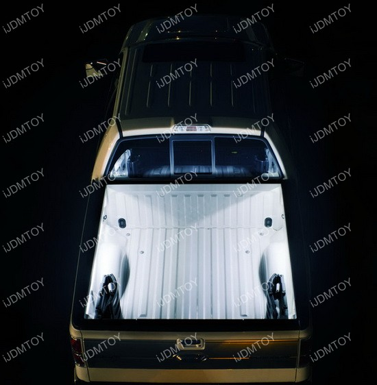 Truck cargo bed LED light kit