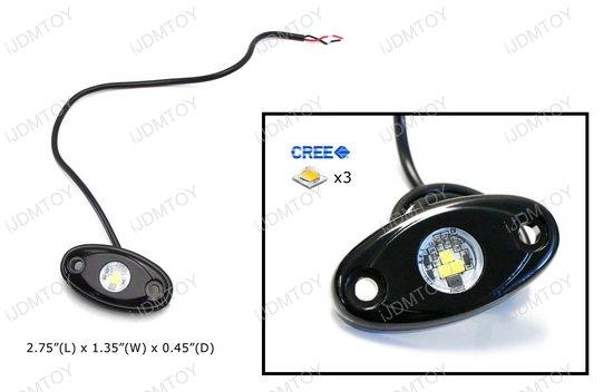 Off-Road Rigid LED Rock Light Kit