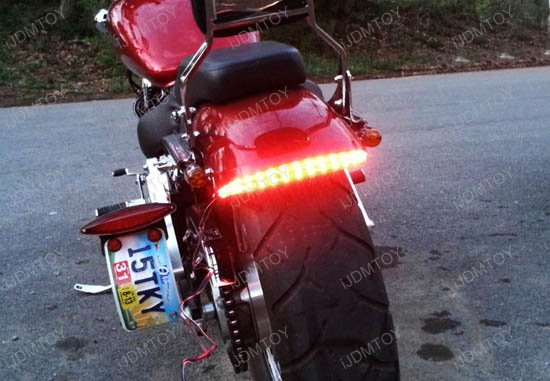 Led bar for brake tail light and left or right turn signal lamp universal led lighting bar for braketail lights turn signal lights aloadofball Choice Image