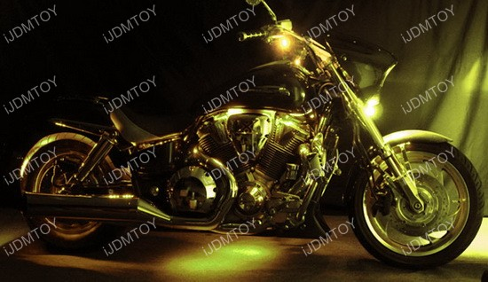 Motorcycle 7-Color RGB LED Lighting Kit