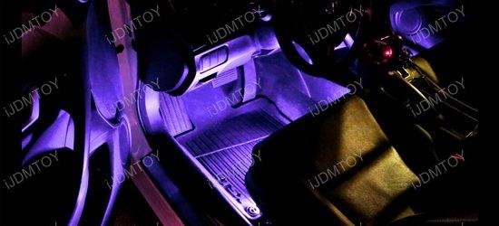 Sound Active LED Car Interior Lighting Kit