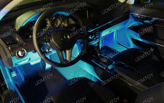 Cigarette Outlet Powered LED Interior Lighting Kit
