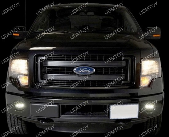 3 LED Daytime Running Lights