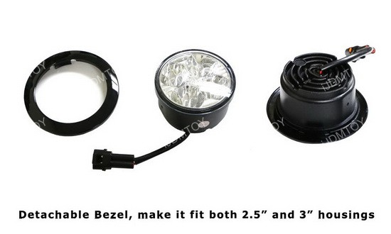 Detachable Bezel Osram LED Daytime Running Lamps