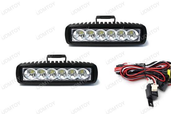 Universal Fit LED Daytime Running Lights