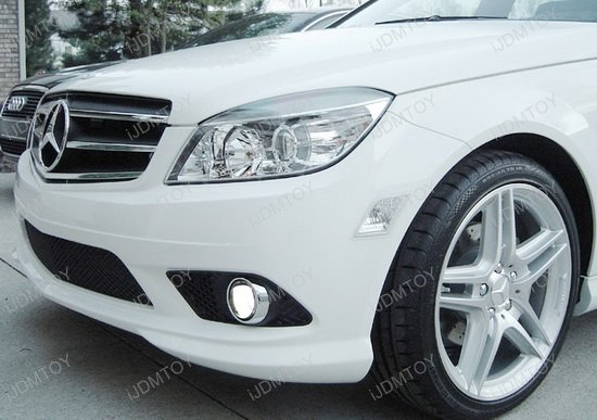 Mercedes C-Class Projector Fog Lights