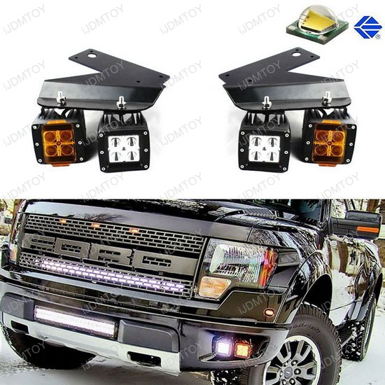 Ford Raptor 4-LED High Power LED Work Light Kit