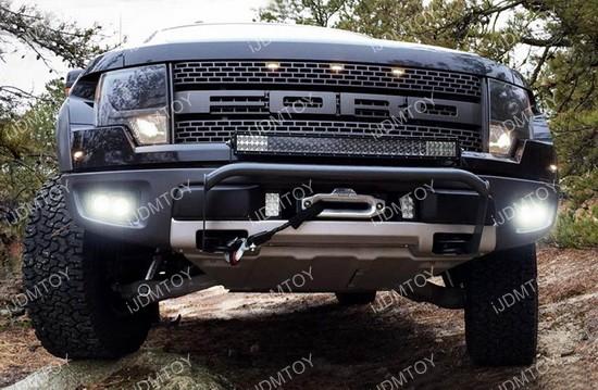 Ford Raptor LED Vision Work Lights