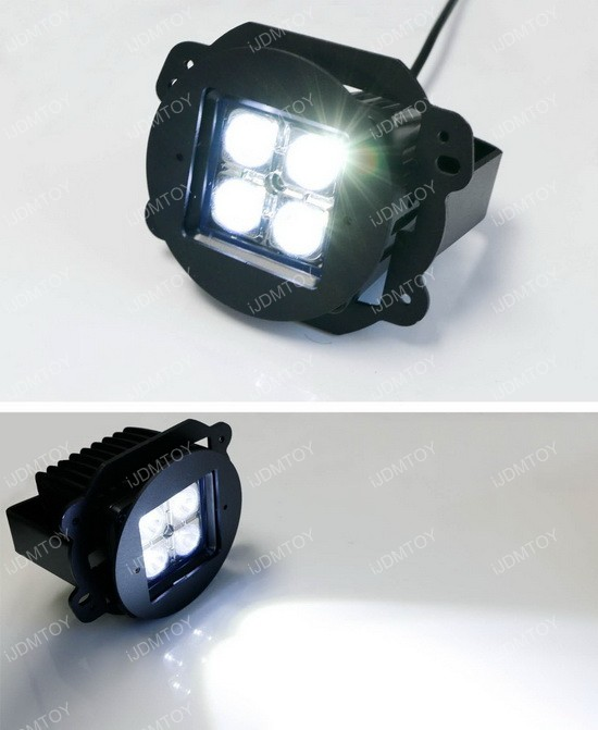 40W CREE High Power LED Fog Light Kit For Jeep