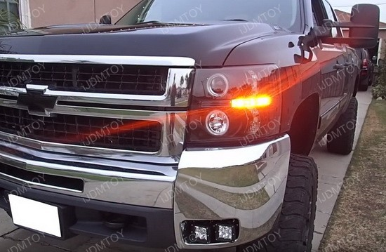 Chevy Silverado LED Fog Light Kit
