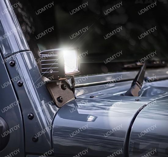 Jeep Wrangler JK LED lighting kit