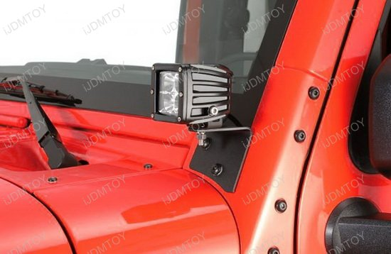 Jeep Wrangler JK LED lighting kit