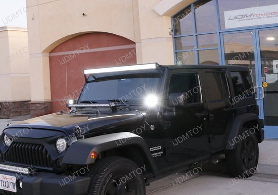 Jeep Wrangler LED Pillar Light