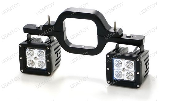 Tow Hitch Mount 40w High Power Cree Led Pod Backup Reverse