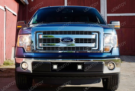 2009 2014 Ford F 150 Cree High Power Led Fog Light Kit