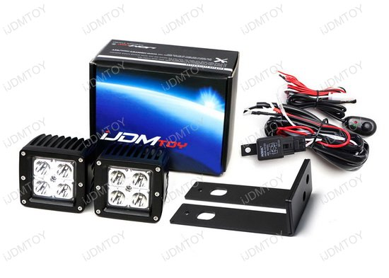 2018 up jeep wrangler jl 40w cree high power led pod light kit trailer tow wiring harness