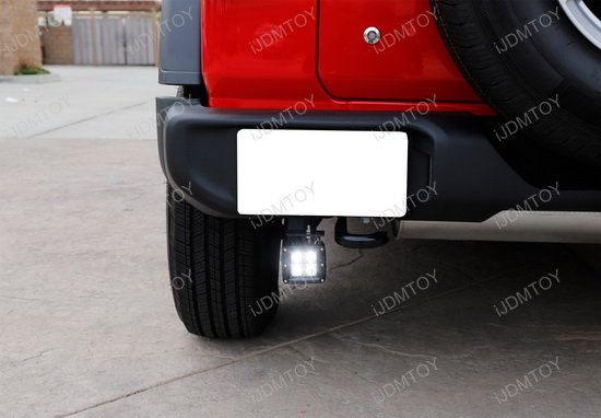 2018 up jeep wrangler jl 40w cree high power led pod light kit