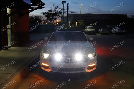 Ford Mustang Behind Grille LED Pod Light