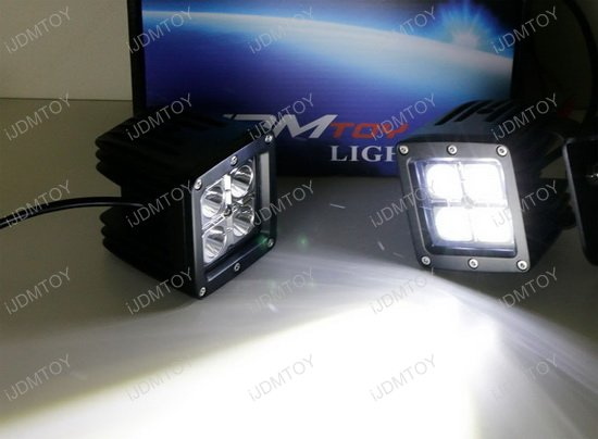 LED Pod Light A Pillar Mount