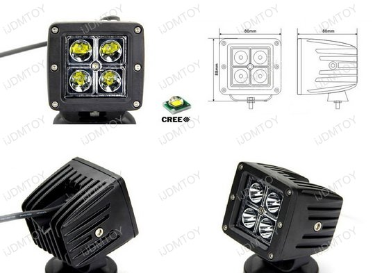 Dodge RAM 2500 3500 Pod LED