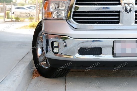 Dodge Ram 1500 80w High Power Cree Led Fog Lights