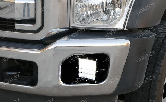 100w hybrid beam led fog light for ford f 250 f 350 super duty