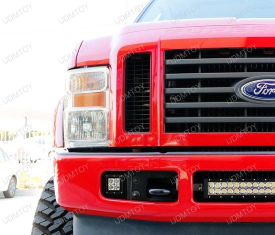 Ford F250 LED Pod Fog Light