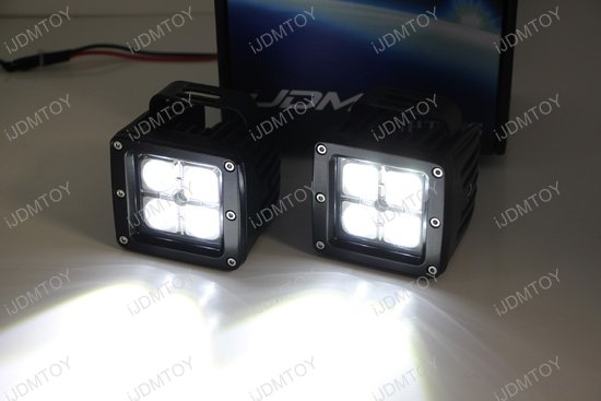 Ford F250 LED Pod Fog Lights