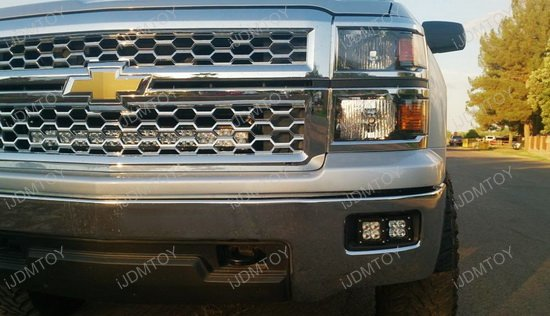 Chevy Silverado 1500 Dual LED Light