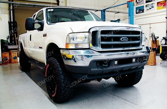 Ford F250 LED Fog Pod Lights