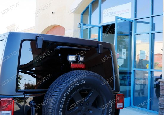 Jeep Wrangler Dual Rear LED