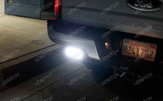 17-up Ford F-250 Rear Bumper LED Light Bars