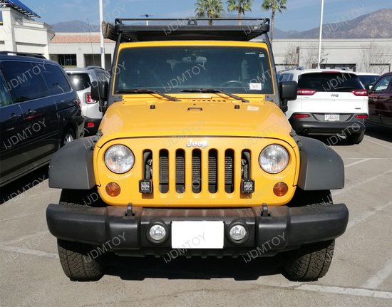 Jeep Front Grille LED Pod Lights