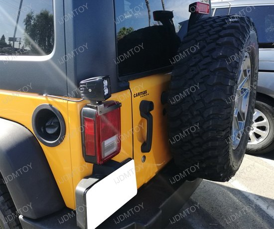 Jeep Wrangler Tail Light Mount LED