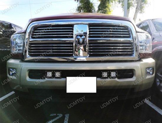 Dodge RAM Dual LED Pod Light Kit