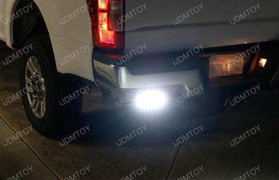Dodge ram 1500 2500 3500 dual led light bars wrear bumper mount wiring dodge ram rear bumper led light bar aloadofball Images
