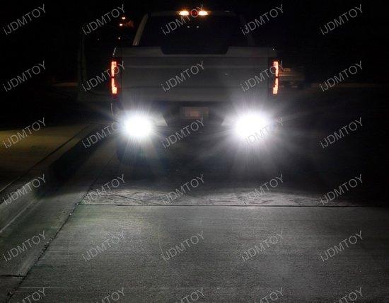 Dodge Ram 1500 2500 3500 Dual Led Light Bars Wrear Bumper Mount Wiring