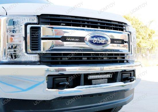 Ford F250 Grille Mount LED Light Bar