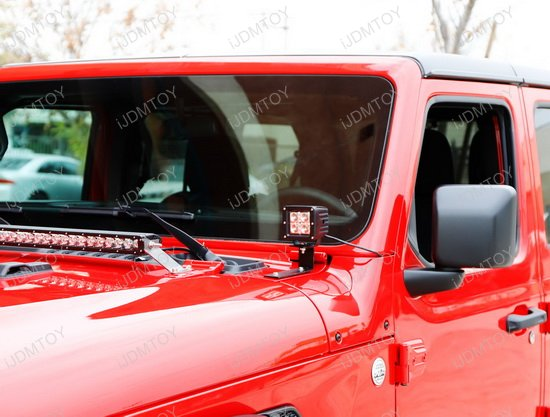 Cree High Power Led Pod Lighting Kit For 2018 Up Jeep