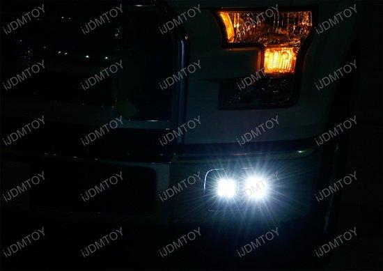 Ford F150 F250 Dual LED Fog Lamp Kit