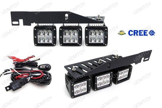 Ford Raptor Triple LED Pod Lights