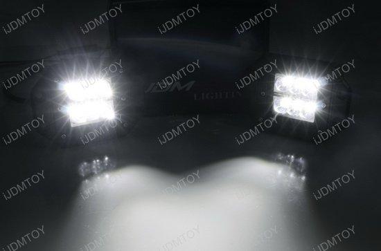 Behind Grille Mount LED Pod Light Kit