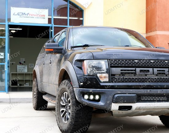 Ford Raptor Triple 10W LED Pod Light Kit