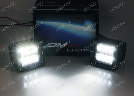 Jeep Wrangler TJ JK LED A-Pillar Lights
