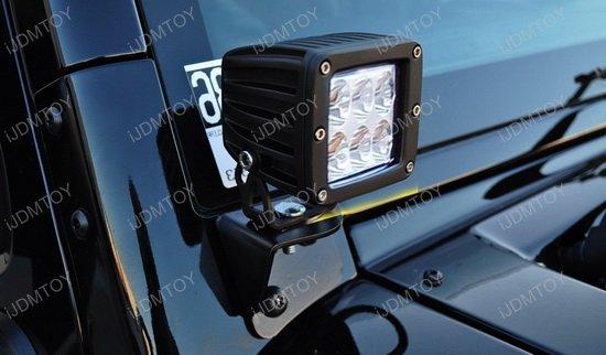 Jeep Wrangler Tj Amp Jk Dually 2x3 Led A Pillar Driving